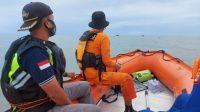 Basarnas Lampung Beserta Tim SAR Gabungan Melakukan Pencarian 1 Orang ABK KM Safari