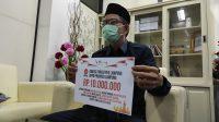 Sisihkan gaji, Fraksi PKS Lampung Donasi Untuk Negeri