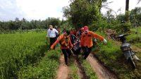Korban Tenggelam di Sungai Dusun Sumber Rejo ditemukan Dalam Keadaan Meninggal Dunia