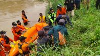 Basarnas Lampung Bersama Tim SAR Gabungan Berhasil Mengevakuasi Korban Tenggelam di Sungai Way Umpu