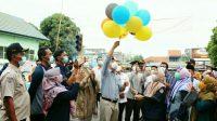Walikota Wahdi Resmikan Pasar Takjil
