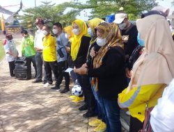 Mardiana Musa Ahmad Kukuhkan PERWOSI( Persatuan Olahraga Wanita Indonesia)