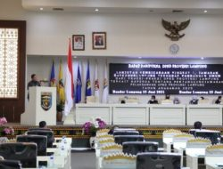 Gubernur Arinal Sampaikan Jawaban Atas Pemandangan Fraksi-Fraksi DPRD Lampung Terhadap Raperda