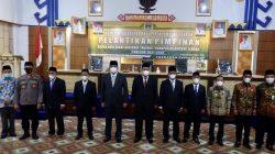 Bupati Musa Ahmad Melantik Pimpinan Badan Amal Zakat Nasional Kabupaten Lampung Tengah Periode 2021-2026