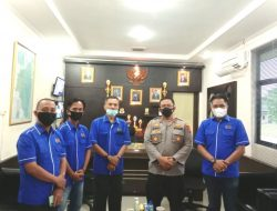 Kapolres AKBP Zaky Alkazar Nasution Gelar Audensi Dengan PWI Lampung Timur