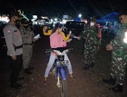 Operasi Pendisiplinan Prokes, Di Lapangan Bandar Sribhawono