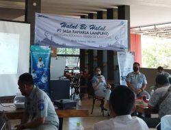 Jasa Raharja Lampung Gelar Acara Halal bihalal Bersama Rekan Media