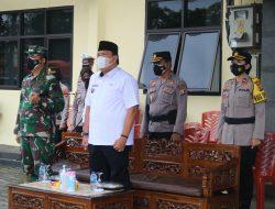 Dandim 0429/Lamtim Hadiri Apel Kesiapan Vaksinasi Covid-19 Keliling Polres Lampung Timur